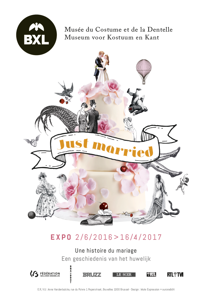 Exposition Just Married, une histoire du mariage_Musee Mode & Dentelle
