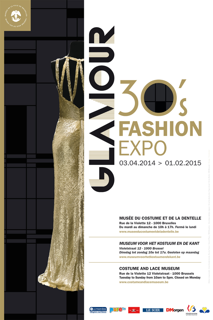 Expo Glamour - Musee mode et dentelles