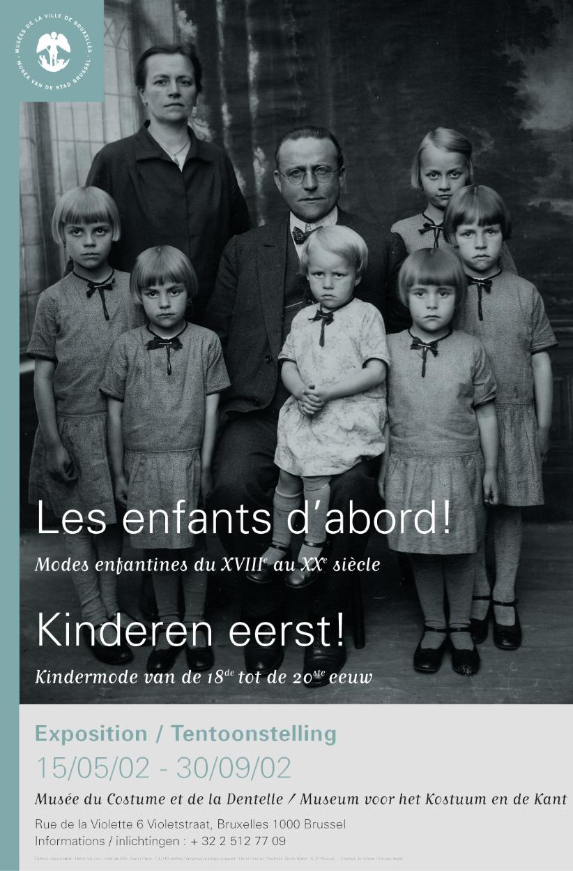 Exposition Les enfants d'abbord ©Musée Mode & Dentelle