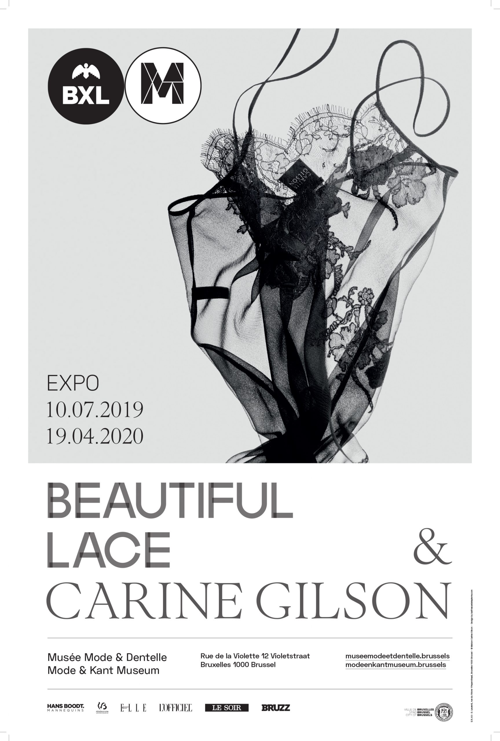 Exposition Beautiful Lace & Carine Gilson_Musee Mode & Dentelle